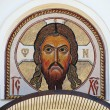 Mosaic image of Jesus Christ — Foto de stock #12382724