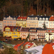 Buildings in Karlovy Vary, Czech Republic — Stock Photo #12382774