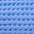 Blue wool knitted texture — Stock Photo #12382776
