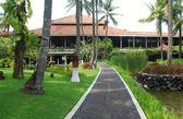 Tropical hotel resort in Bali, Indonesia — Stock Photo