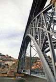 Brige from Eiffel in Porto — Stock Photo