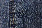 Blue denim background — Stock Photo