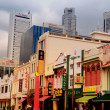Singapore - Chinatown District - Stock Photo