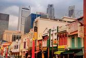 Singapur - chinatown bahşı — Stok fotoğraf