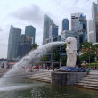 Stock Photo: Merlion Park, Singapore