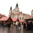 Foto Stock: Prague Christmas market