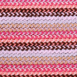 Multi-colored knitting horizontal striped background — Foto de Stock