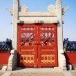 Old gate in The Temple of Heaven, Beijing. — Stock Photo