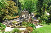 Majestic garden (Sintra,Portugal) — Stock Photo
