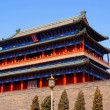 Ancient Qianmen Gate in Forbidden City(Beijing, China) - Stock Photo