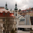 Stock Photo: Cityscape with Saint Mary Magdalene church (Karlovy Vary)