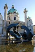 Wien, Dom St. charles — Stockfoto