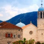 Old church in Kotor bay(Montenegro) — Stock Photo #13956635