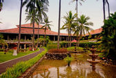 Tropical resort (Indonesia) — Stock Photo