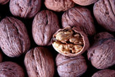 Crushed walnut — Stock Photo
