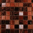 Mix brown shiny glass mosaic - Stock Photo