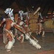 African Zulu dancers — Stock Photo