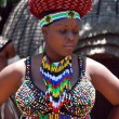 African woman in traditional accessories(South Africa) — Stock Photo #14552717