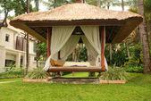 Gazebo At A Resort In Bali — Stock Photo