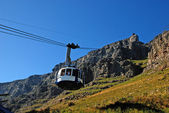 Funicular on Table Mountain(Capetown) — Stock Photo