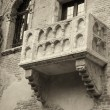Stock Photo: Famous balcony of Juliet