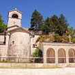 Ortodox monastery in Cetinje, Montenegro — Stock Photo