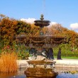 Stock Photo: Beautiful Fountain in Garden