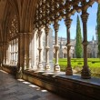 Old monastery and garden, Batalha, Portugal — Stock Photo