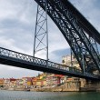 Stock Photo: Dom Luis I Bridge in Porto, Portugal