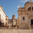 Постер, плакат: Church of St Blaise on Luza Square Dubrovnik Croatia