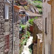 Stock Photo: Old mountain village Monsanto(Portugal)