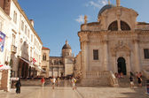 Church of St Blaise on Luza Square,Dubrovnik, Croatia — Stock Photo