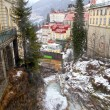 Bad Gastein in Alps mountains  — Stock Photo