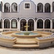 Stock Photo: Fountain in arabic patio