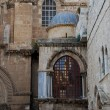 Church of Jesus grave (Jerusalem) - Stock Photo