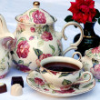 Stock Photo: English tea