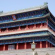Ancient chinese pagoda (Beijing, China) - Stock Photo