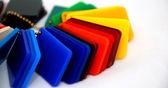 Multicolor plastics — Stock Photo