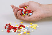 Batch of pills — Zdjęcie stockowe