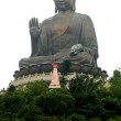 Giant Buddha(Hong Kong,China) — Stock Photo #22082033