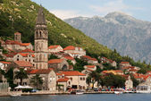 Mediterranean town - Perast, Montenegro — Stock Photo
