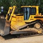 Yellow Bulldozer — Stock Photo #22190955