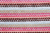Multi-colored knitting striped background — Stock Photo
