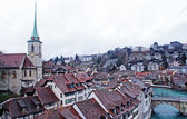 Rooftops of Bern - capital of Switzerland — Stock Photo