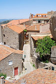 Old stone village with red tile roofs (Portugal ) — Stock Photo