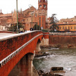 Verona in winter — Stock Photo