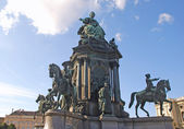 Monument of Maria Theresia (Vienna, Austria) — Stock Photo