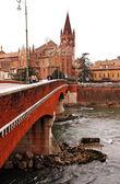 Verona in winter — Stock Photo