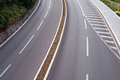 Curved road — Stock Photo