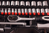 Tools in a toolbox — Stock Photo